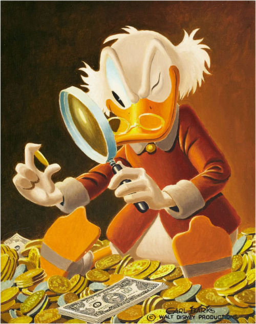 comicblah:  The Expert by Carl Barks