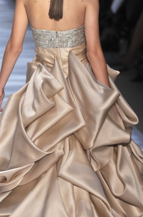 christian siriano couture satin fashion gowns runway p