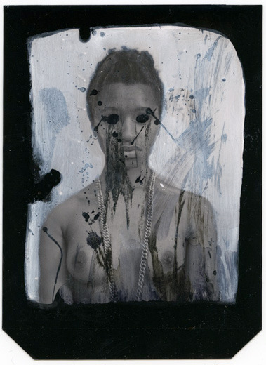 Samuel Quinn, Distressed Thelma Louise, from the series Drip, 2012