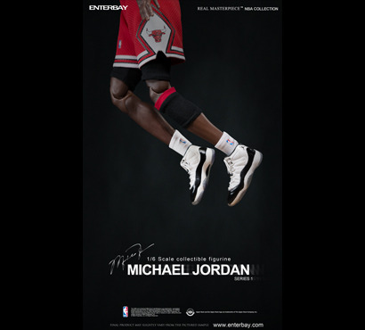 Michael Jordan #23 (Series 1 road Edition) 1/6 Scale by Enterbay