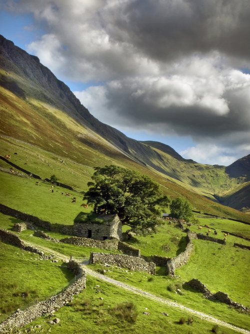 heathenwarrior:   Cumbrian landscape by ~YorkshireSam