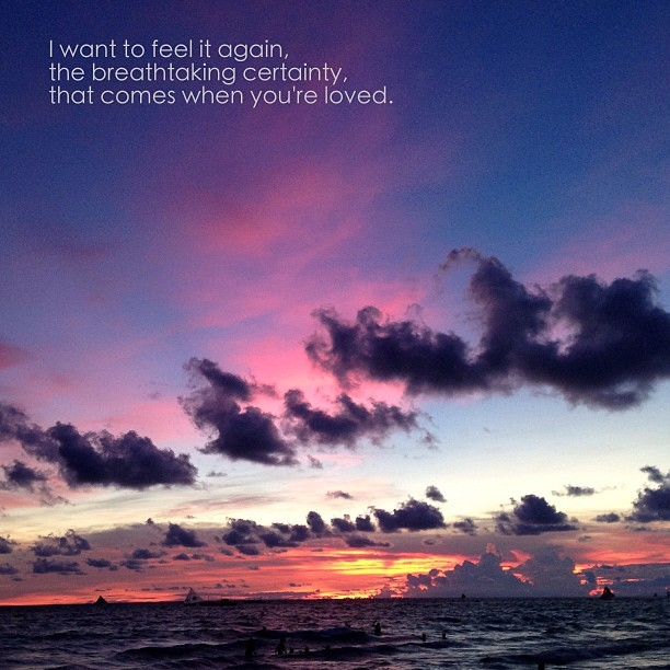 #unsentpostcards #boracay #sunset (at Station 1 Boracay Island)