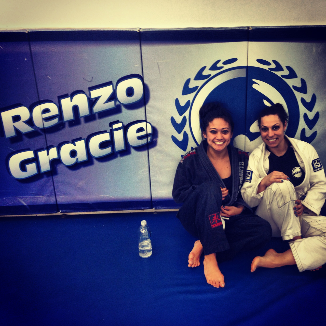 ohfaye:  A visit to the Renzo Gracie gym in the city. We took the 7pm women's class with Max. Learned some good technique. Time to drill over and over and over and over until my muscles know that sweep and that submission by heart!! I missed out Brooklyn heads though. Back to home base tomorrow :)