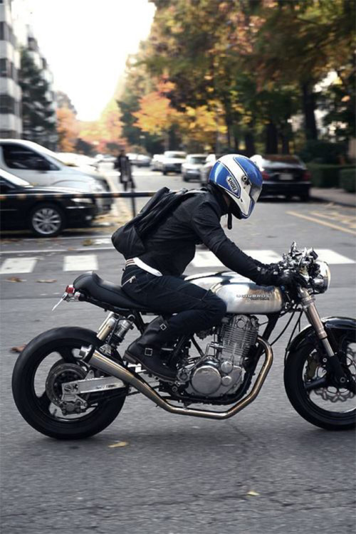 beethovensteaparty:  Ugly Bros Yamaha Cafe