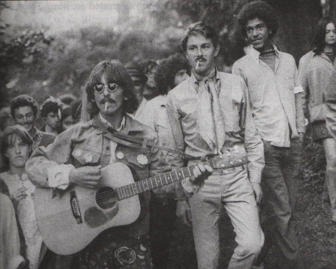 George Harrison. 1967 Summer of Love. Haight-Ashbury