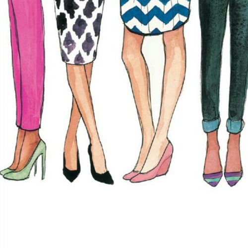 fancyfad:  I obsess over fashion illustrations