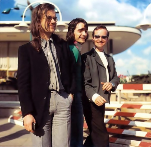 my-life-in-the-bush-of-ghosts:  Kraftwerk, Hamburg, 1974.