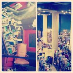 The Last #Bookstore at #DowntownLA with Sol. (∩∩♥) #book #somewhere  (at The Last Bookstore)