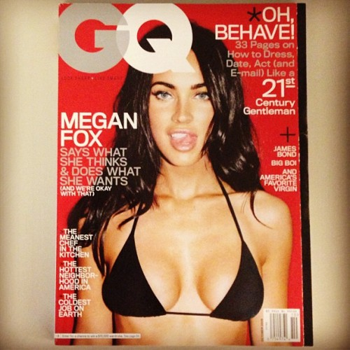 gqfashion:  #throwbackthursday Happy Birthday, Megan Fox! (October 2008)