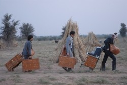 Monogrammed luggage for The Darjeeling Limited