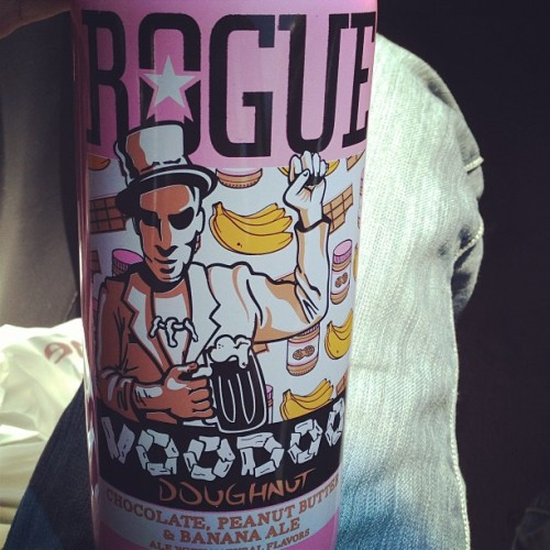Things are about to get weird #rougeales #voodoodoughnut