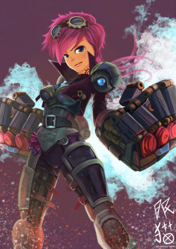 thekawaiiod:  VI-Frozen Fist by ~ALSWDeviant