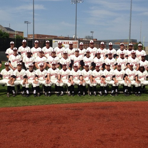 "Team picture day! 2013 Maryland Baseball #TerpNation  (at Shipley Field at Bob ""Turtle"" Smith Stadium)"
