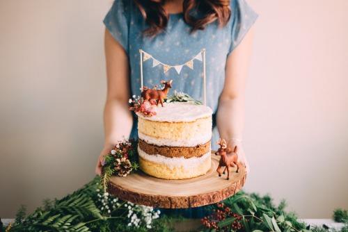 sweetoothgirl:   Vanilla Gingerbread Cake with Chai Mascarpone Buttercream #recipe#vanilla#gingerbread#cake#chai#mascarpone#buttercream