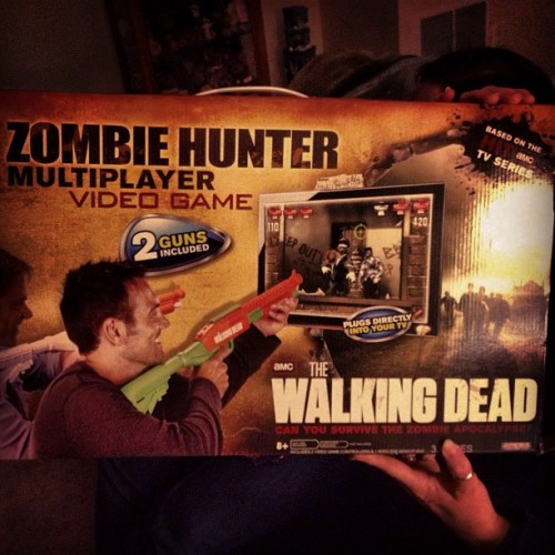 #HolidayFun! #TheWalkingDead #ZombieHunter #Zombies #twd #game