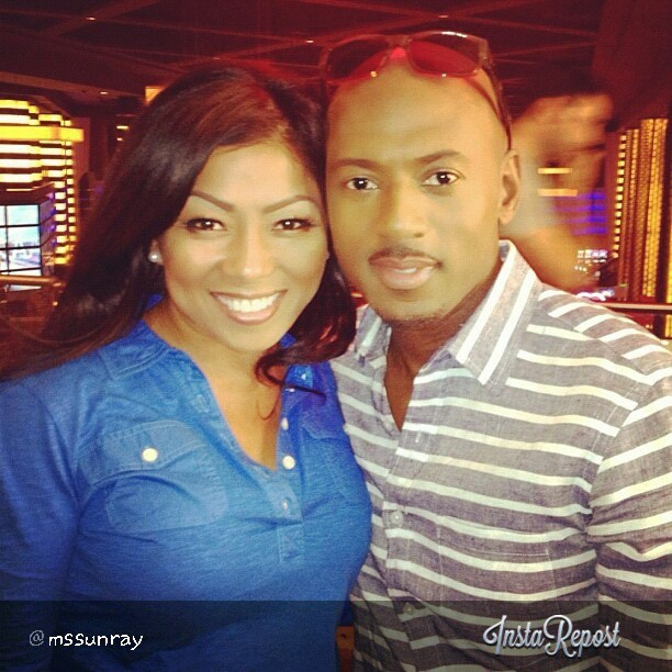 via @MsSunRay what a treat to see @romanymalco again since we closed down Prime 112 in Miami.  #kindredspirit