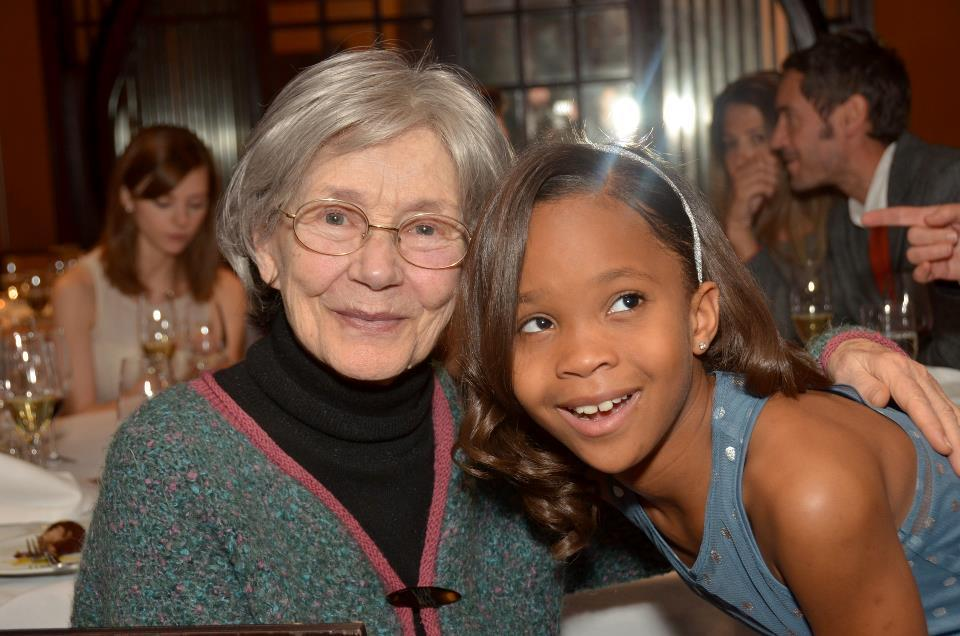 keyframedaily:  Emmanuelle Riva (Amour) and Quvenzhané Wallis (Beasts of the Southern Wild), the oldest and youngest ever nominees for Best Actress Oscars. Photo by Godlis, via the Film Society of Lincoln Center.  Phenomenal.