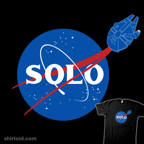 shirtoid:  SOLO by Geek Chic is available at Redbubble