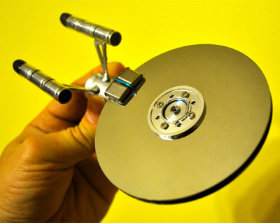Hard Drive Starship Enterprise: Disk Space, The Final Frontier