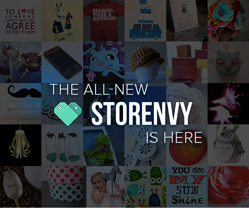 storenvy:  Shop and discover products from over 26,000 creative businesses or start your own!  www.storenvy.com   It's already been a month since the New Storenvy launched. I've been surprised by the success so far. We'll be publishing some stats soon.