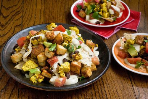 ppk nachos potato vegan vegetarian recipe