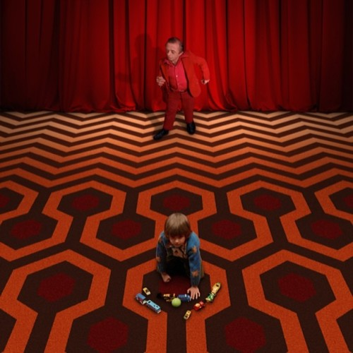 When the rug from the Black Lodge meets the rug from the...