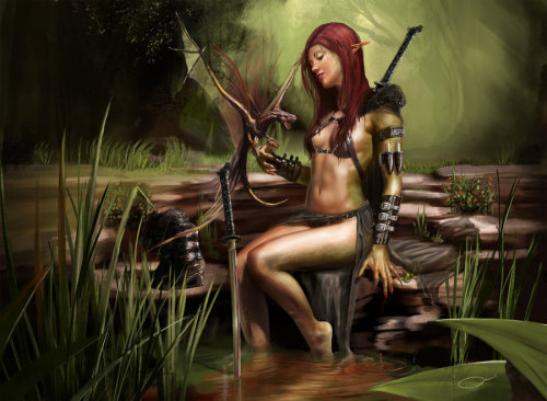 tormentedshore:  Assassin by *PascaldeJong