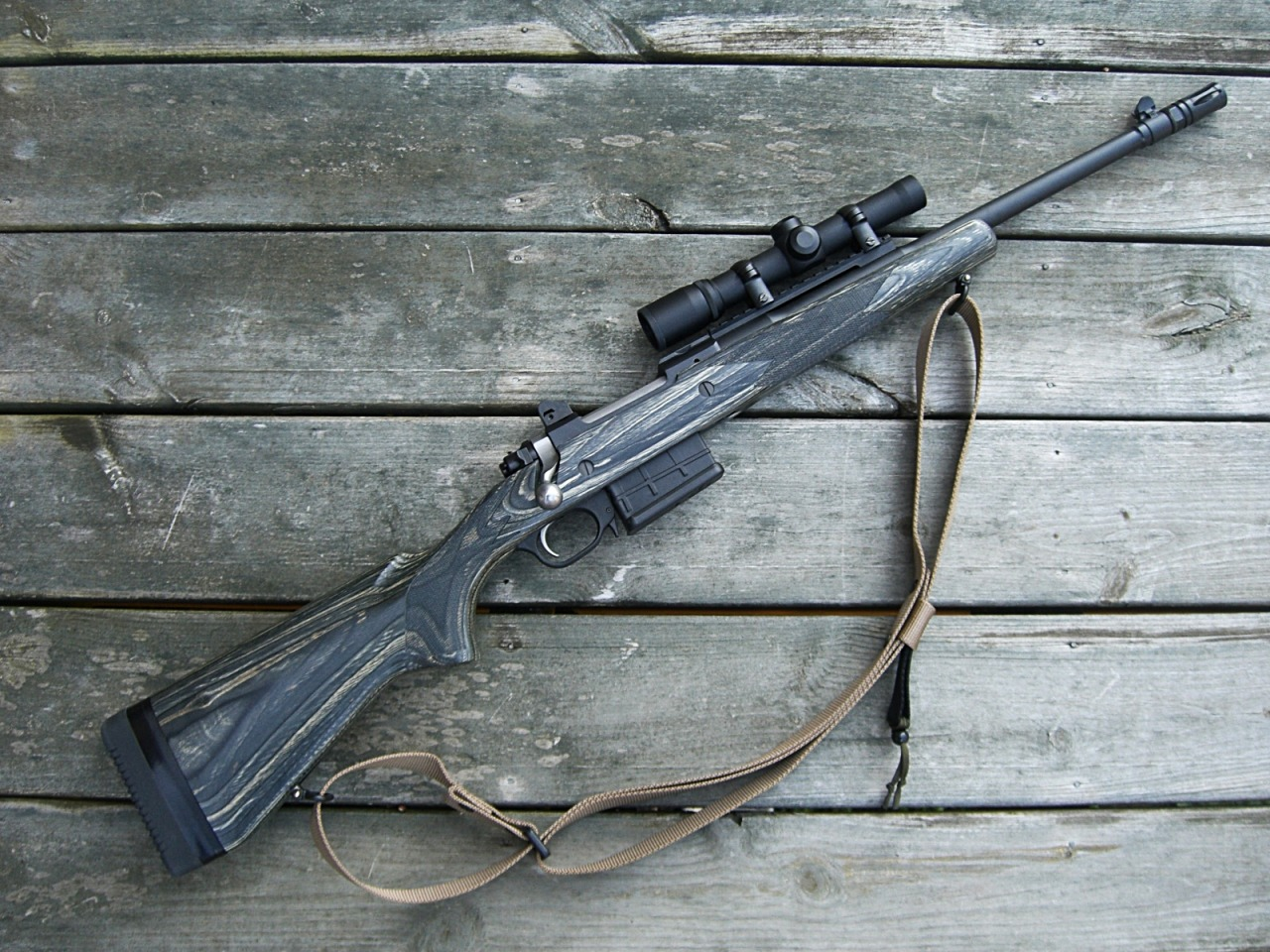 The Ruger Gunsite Scout Rifle (308 Win