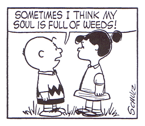 sometimes… comic by Charles M. Schulz :: scanned from The Complete Peanuts :: Fantagraphics Books :: 2004