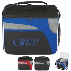 Promotional Super Chic Cooler Bag Great Summer Giveaway for your Logo! Order Some for your next Company Picnic or Event! Customize with your name for free with no set up fees.
