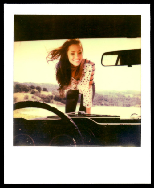 Title: A Girl and Her Horse Camera: Polaroid sx 70 Film: Impossible PX680 Color Shade This photo was from a shoot I did back in May of 2012. I had the pleasure to work with my friend, Jessica, who has modeled for me a few times in the past. In this shoot I wanted to achieve this vintage/post-modern/retro style, so I had Jessica pose in a classic 1968 Ford Mustang and I used an old school Polaroid camera (Polaroid px 70). Even though the model was dressed in a more modern attire, in my opinion, the instant film look helped depict a more antique feel towards the photo… To see more photos from this set, visit my official website at www.rodericksantos.com.