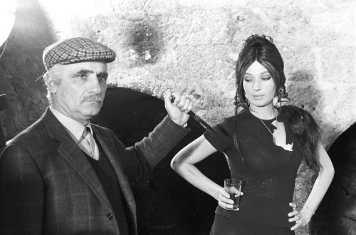 Mario Monicelli (with Monica Vitti)16/05/1915 - 29/11/2010