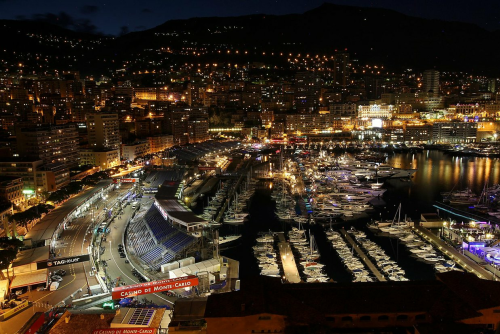 tomgbn:  Monaco at night