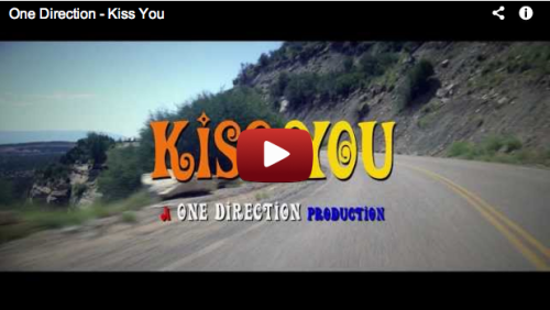 teendotcom:  It's Finally Here! Watch 1D's Cheeky 'Kiss You' Video