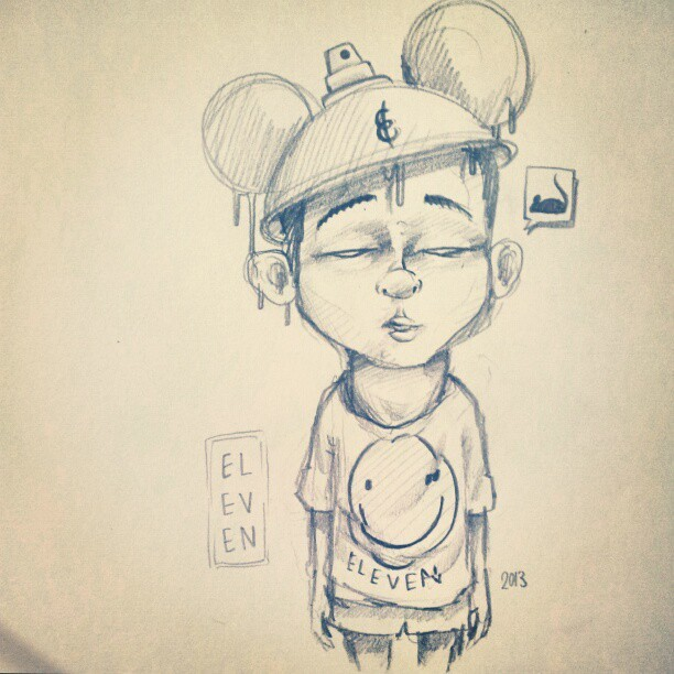 Quick late night sketch #disneycap