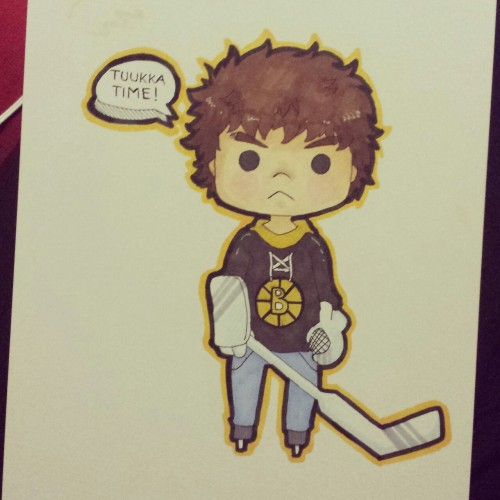 kana-aiysoublood:  Mini Tuukka :D Inspired by mini drawings of widdlekes