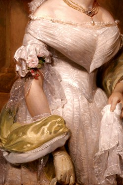 thevictorianduchess:  Angelica Singleton Van BurenHenry Inman Oil on canvas c. 1842