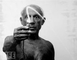 Picasso  -   Photo by Gjon Mili
