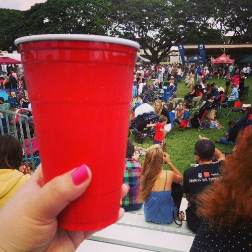 #red solo cup… I filled you up waaaaaaaaaaaaaay too much it's a paaaaaarty