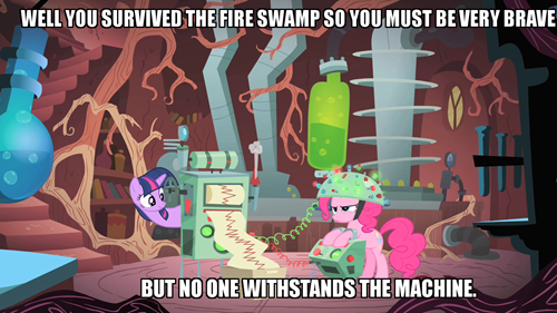 mylittlepony4u:  No One Withstands the Machine