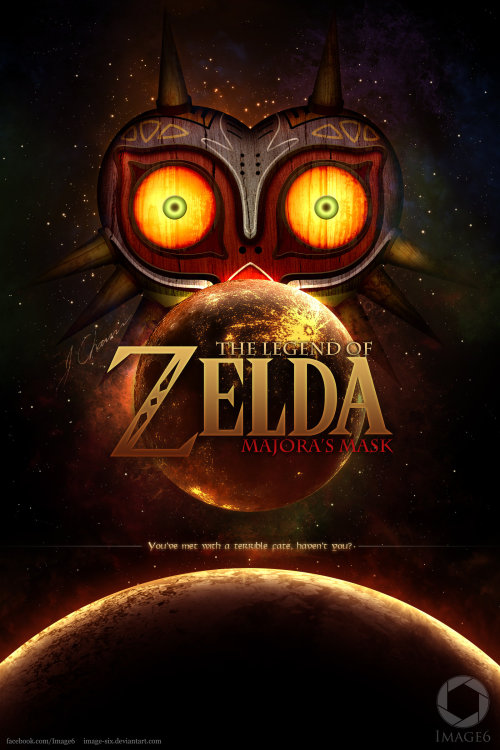 ohsillymatt:  gerudofortress:  Majora's Mask (Fan Poster) by Image-Six  I'm currently playing this.  I would watch THE FUCK out of this movie (wishes for actual movie)