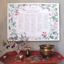 garden flowers guest book: US$36