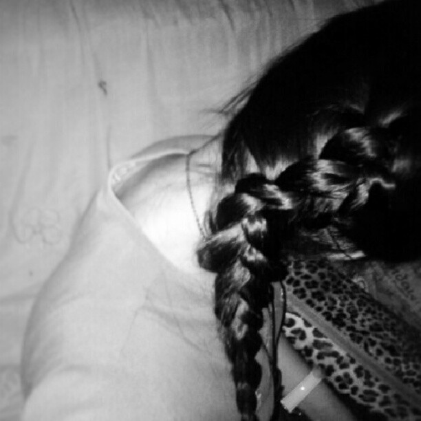I Braided my own hair. Lovely Soft locks. :) #braid #hair #hairstyle #dutchbraid #frenchbraid #lovelylocksofhair #inspiration #instagram