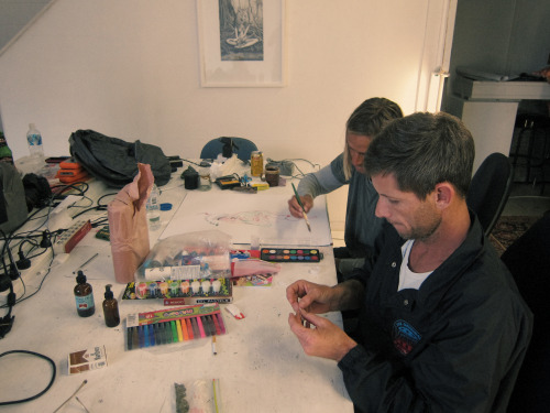 good times at Pro Casual…….arts n crafts with the boys