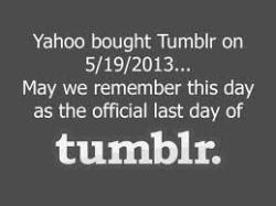 listeningtotoomuchhsmusic:  this is the end of tumblr as we know it its the end oof tumblr as we know it