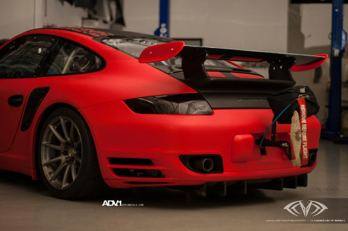 automotivated:  Porsche 997 Turbo ADV10.1SL (by ADV1WHEELS)