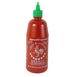 My dinner tonight has no clue how hard I'm about to fuck it up with Sriracha.
