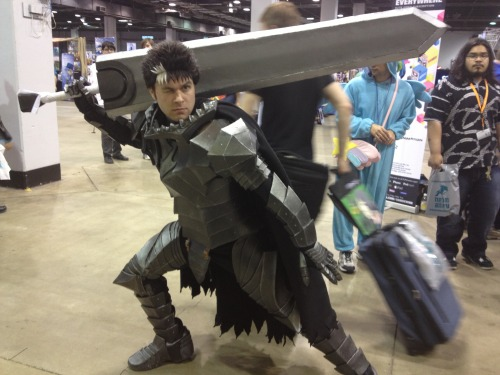 digital-striker:  Guts Cosplay from Berzerk: Ex-Shadow.