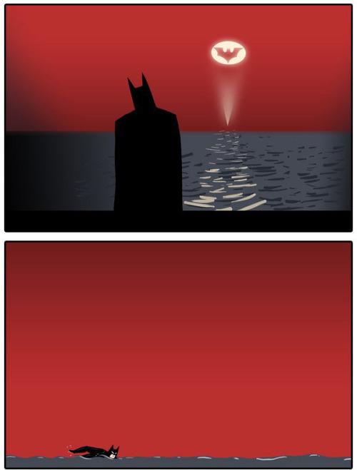 dorkly:  The Easiest Way to Defeat Batman For more comics, go to Dorkly.com!