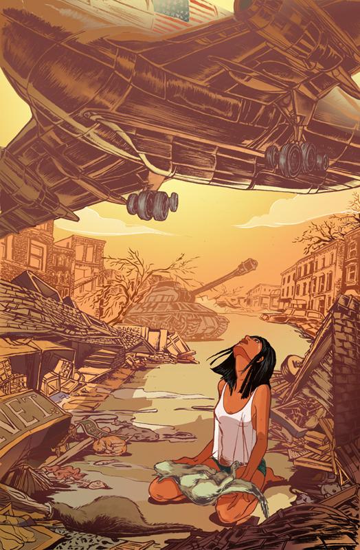 schoolofvisualarts:  Apocalyptic Dream by Yao Xiao